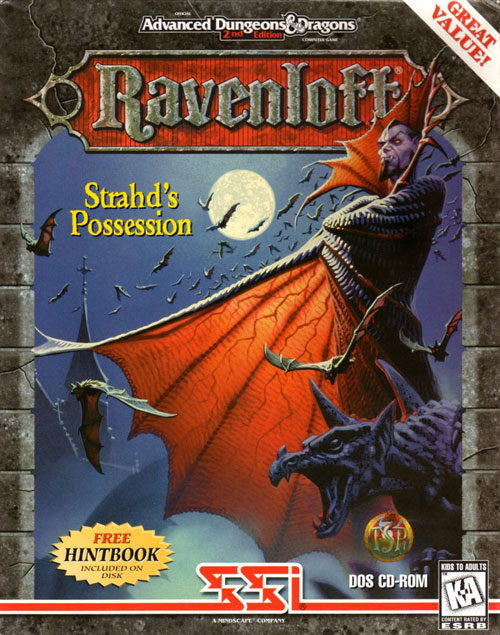 Ravenloft, Strahd's Possession Computer Game