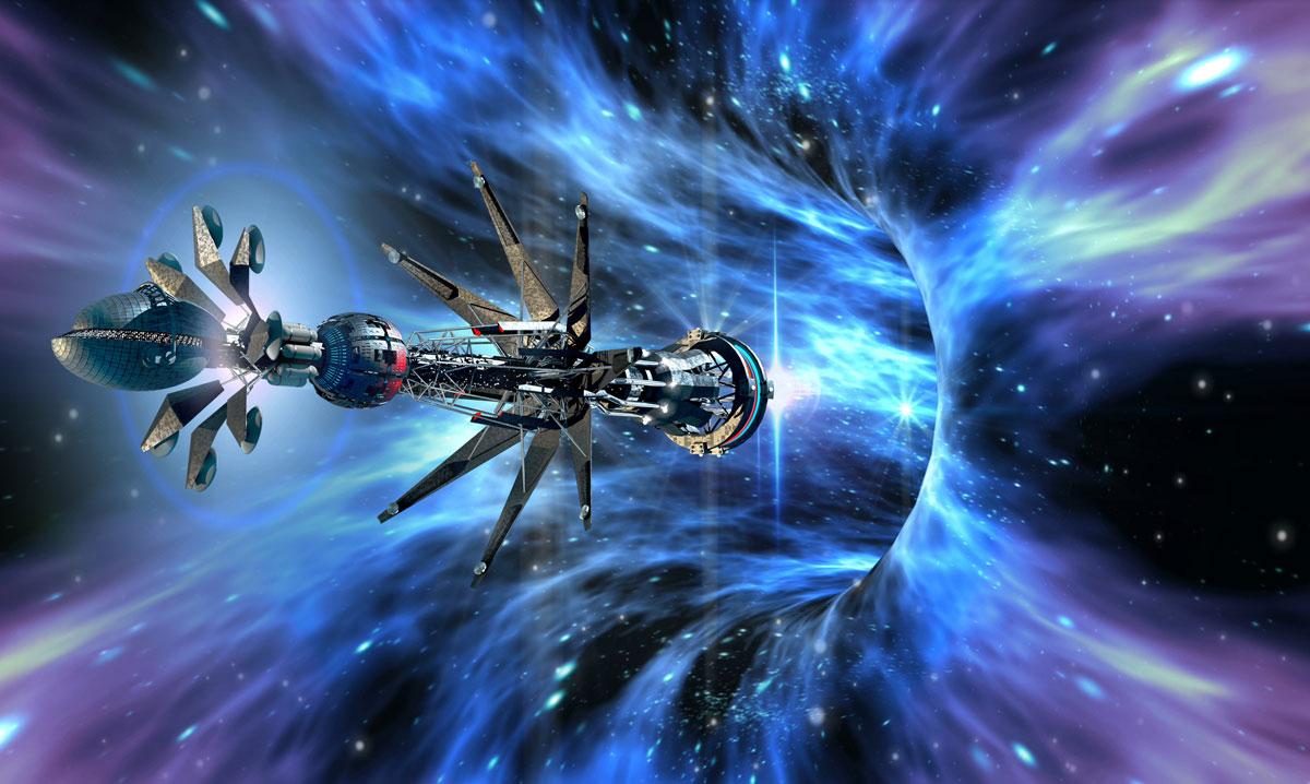 The Prespace Ship Jericho