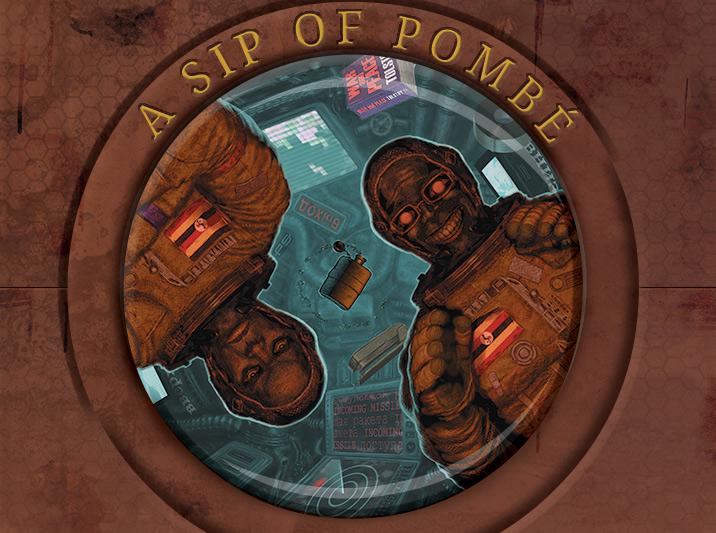 A Sip of Pombe Illustration