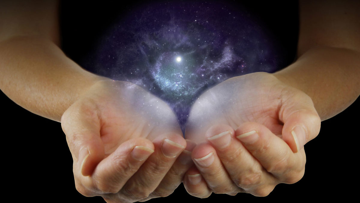 All the Universe in the Palms of Our Hands