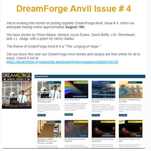 DreamForge eNewsletter